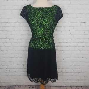 Nanette Lepore Chi-Lites Dress Lace Cocktail 6 new